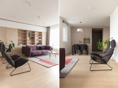 Apartment in Vilnius by Normundas