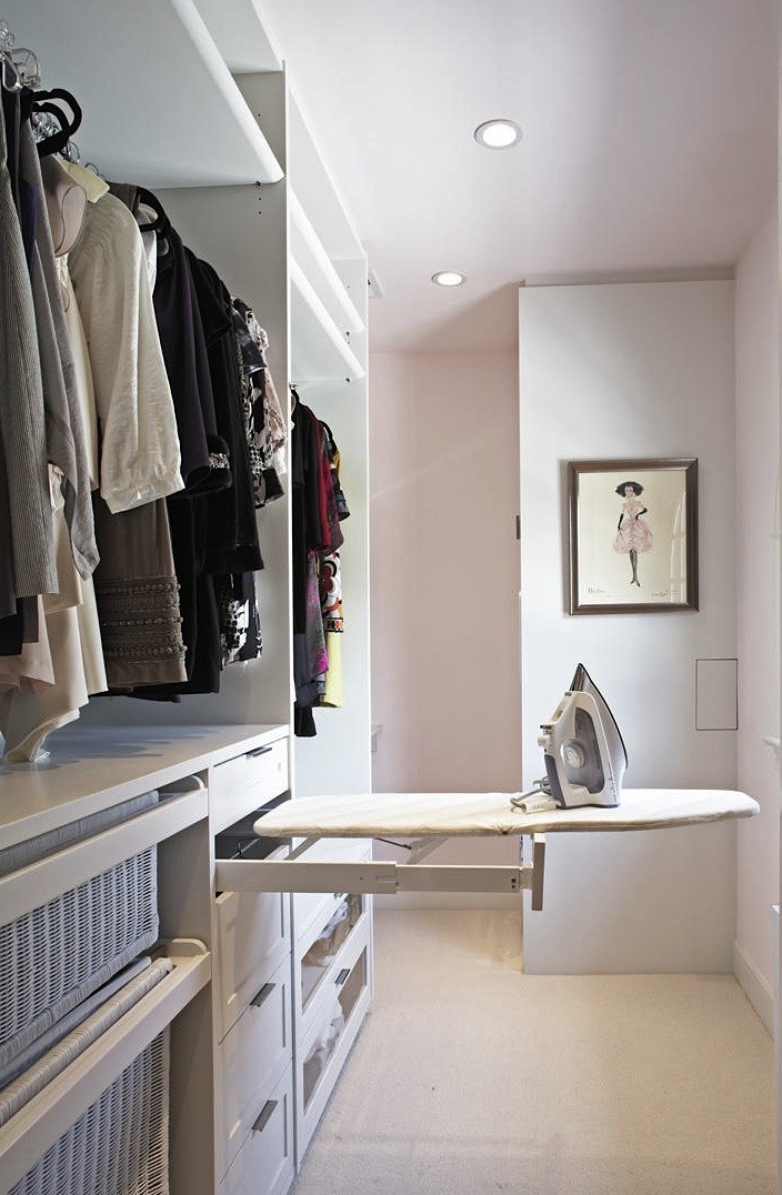lisa adams laundry center remodelista Top 40 Modern Walk in Closets