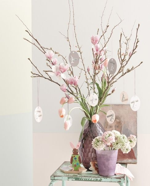 23ada570d56f49ff6f2c69a8c1edfc33 25 Beautiful Easter Decor Ideas