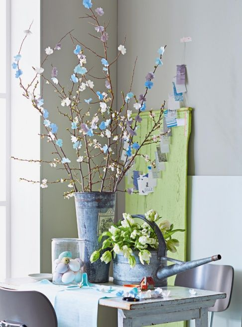 4349f63bc908fe6b27c5362f99bb5565 25 Beautiful Easter Decor Ideas