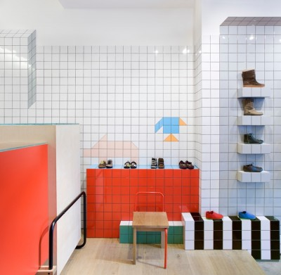 Camper shoe store in London