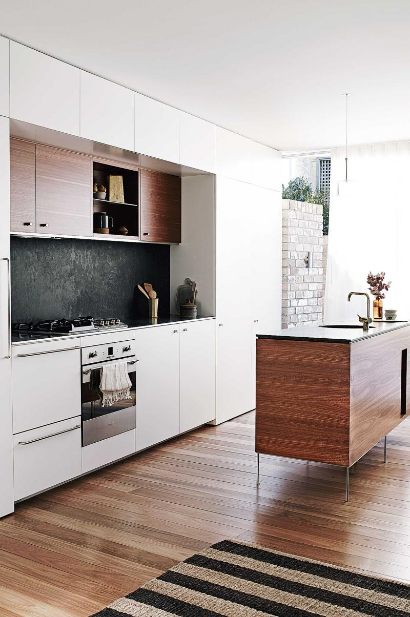 Australian Kitchen Warm And Lively Australian Home