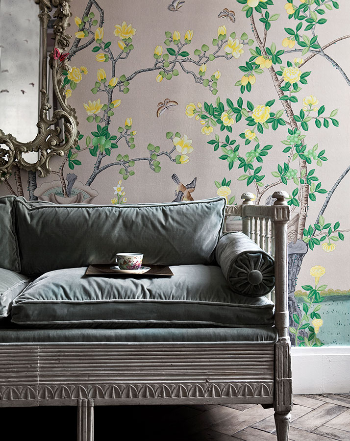 0513 04 50+ Floral Wallpaper and Mural Ideas