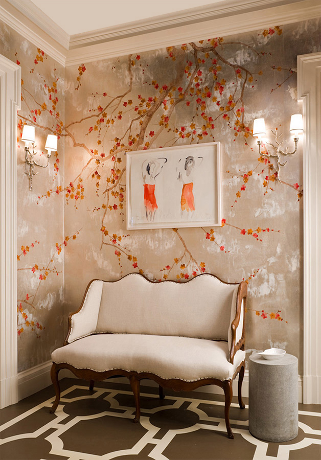 50 floral wallpaper and mural ideas your no 1 source of for Amazing wall coverings