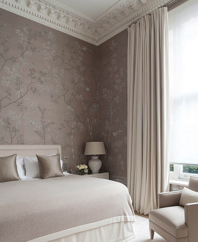 50+ Floral Wallpaper and Mural Ideas