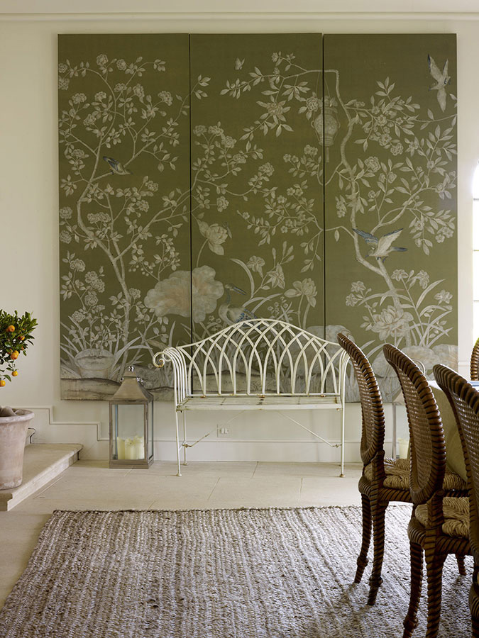 2014 11 02 50+ Floral Wallpaper and Mural Ideas