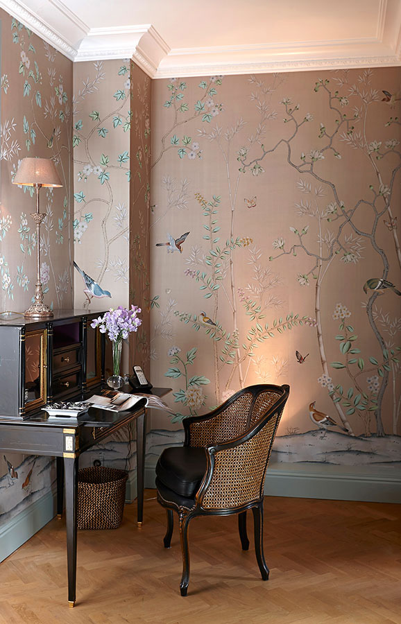 2014 11 03 50+ Floral Wallpaper and Mural Ideas