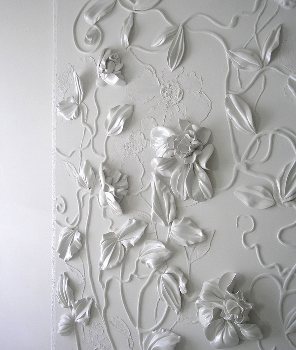 2d13689e2b7d941e0661052dc4c6f9ff 50+ Floral Wallpaper and Mural Ideas