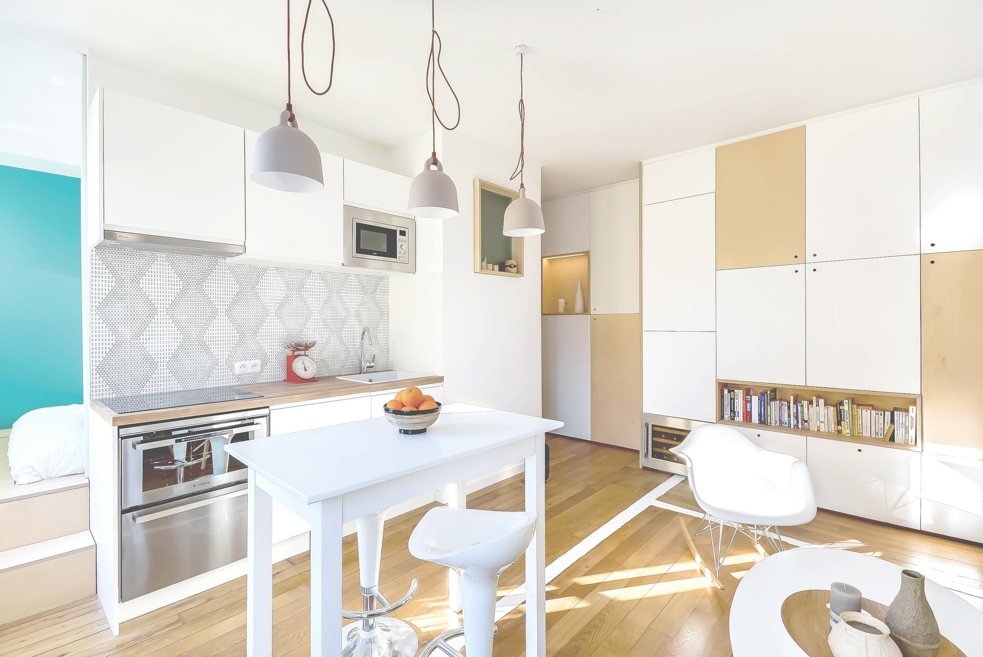 30m2 apartment in paris 2 30m2 Apartment in Paris