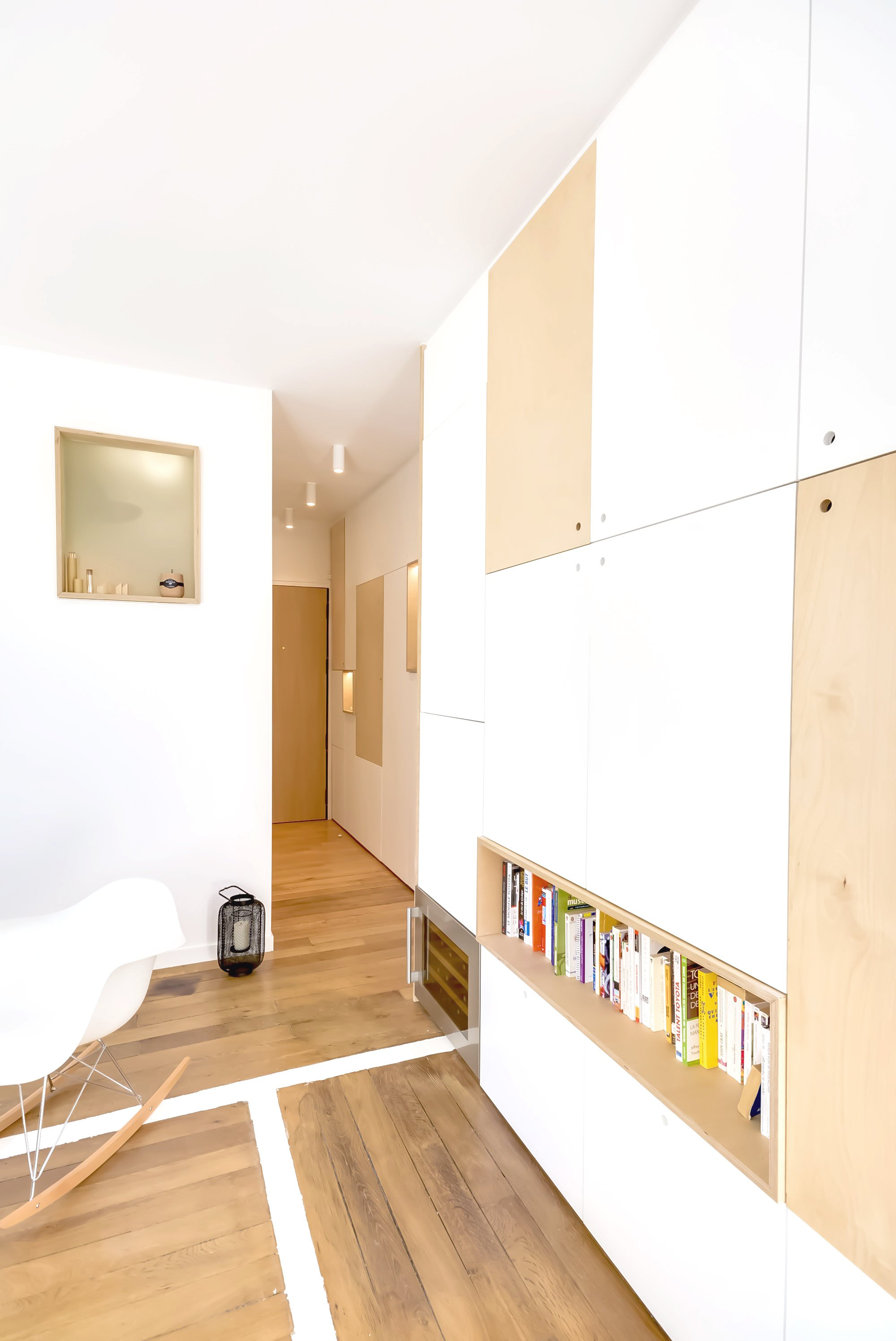 30m2 apartment in paris your no 1 source of architecture for Flat appartement design