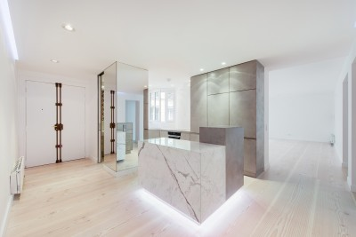 Apartment in Paris by spamroom + LEAinvent