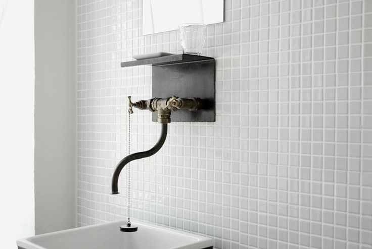 dbb361a6ba4e7f70f9a938efd4eff952 50+ Wall Mounted Tap Ideas
