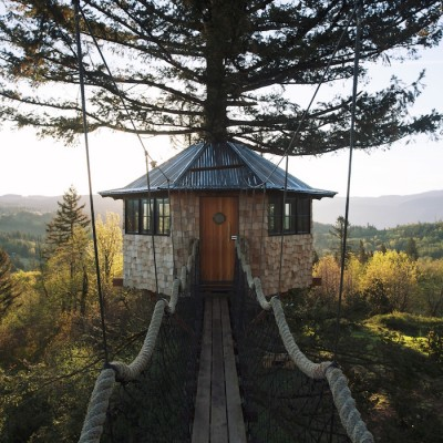 Every Child's Dream – Perfect Self-built Treehouse