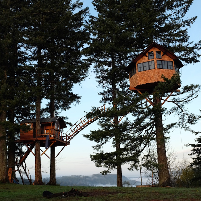 every childs dream perfect self built treehouse 3 Every Childs Dream   Perfect Self built Treehouse
