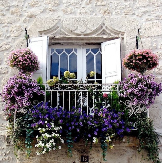 balcony flowers 35 Worlds Most Beautiful Balconies