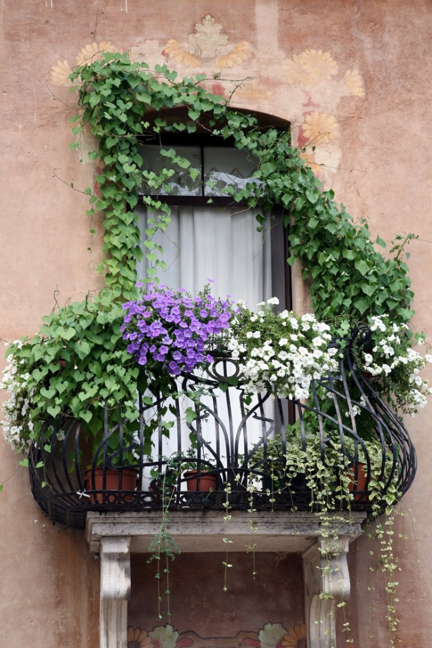 35 world 39 s most beautiful balconies your no 1 source of for Balcony garden