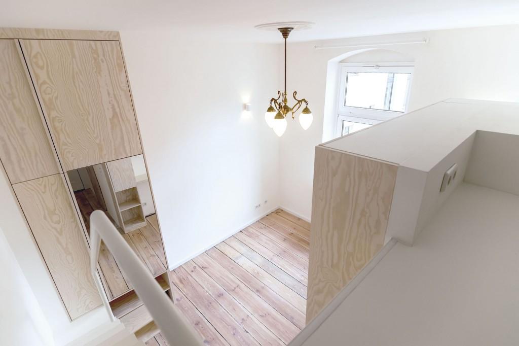 Micro-apartment in Berlin