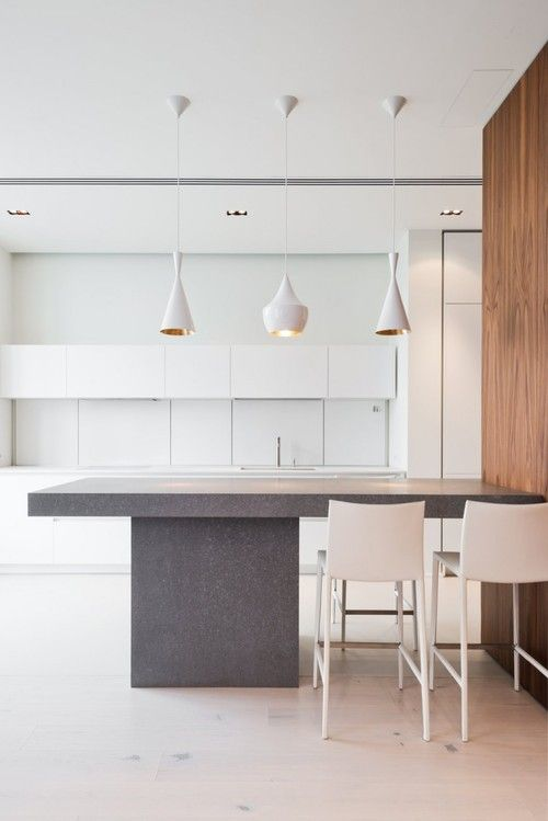modern kitchen ideas 17 Less is more! Modern kitchen ideas