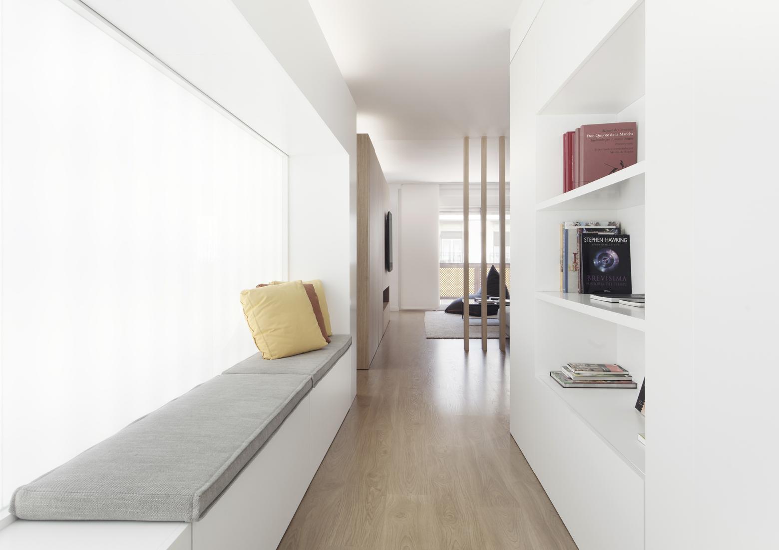 Vivienda gm by onside for Arredare corridoio ingresso