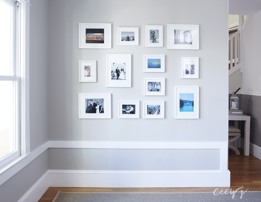 4 photo wall 873x675 Soft and Airy Noe Valley Home