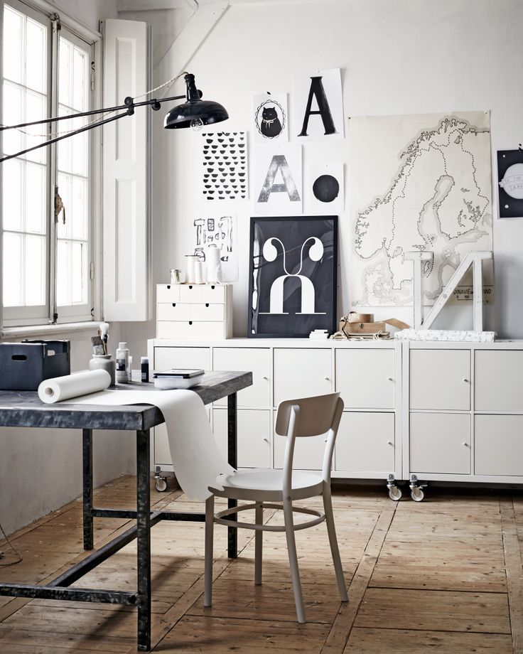 black and white1 Creating Inspiring Workspace
