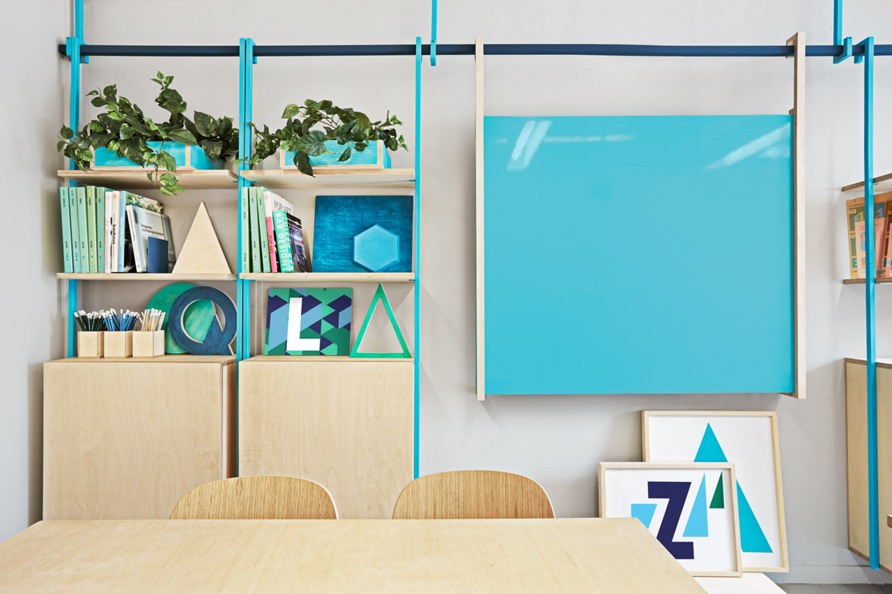 colorful english school in barcelona by masquespacio 9 Colorful English School In Barcelona by Masquespacio