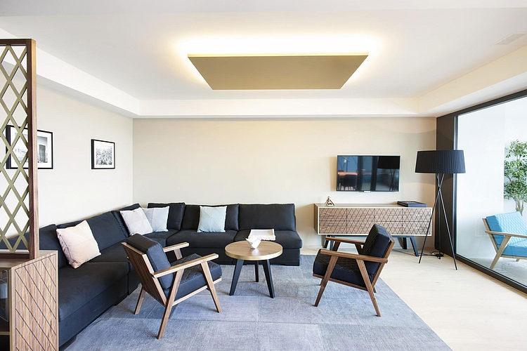 elegant penthouse2 Elegant Penthouse in Zurich