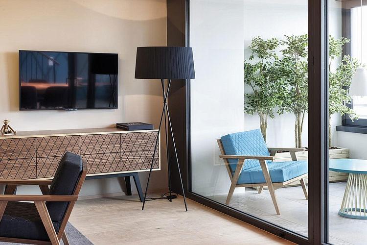 elegant penthouse3 Elegant Penthouse in Zurich