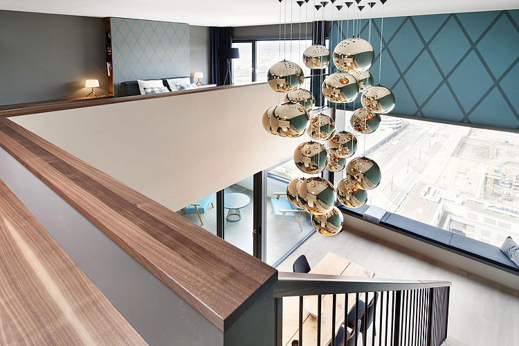 elegant penthouse9 Elegant Penthouse in Zurich
