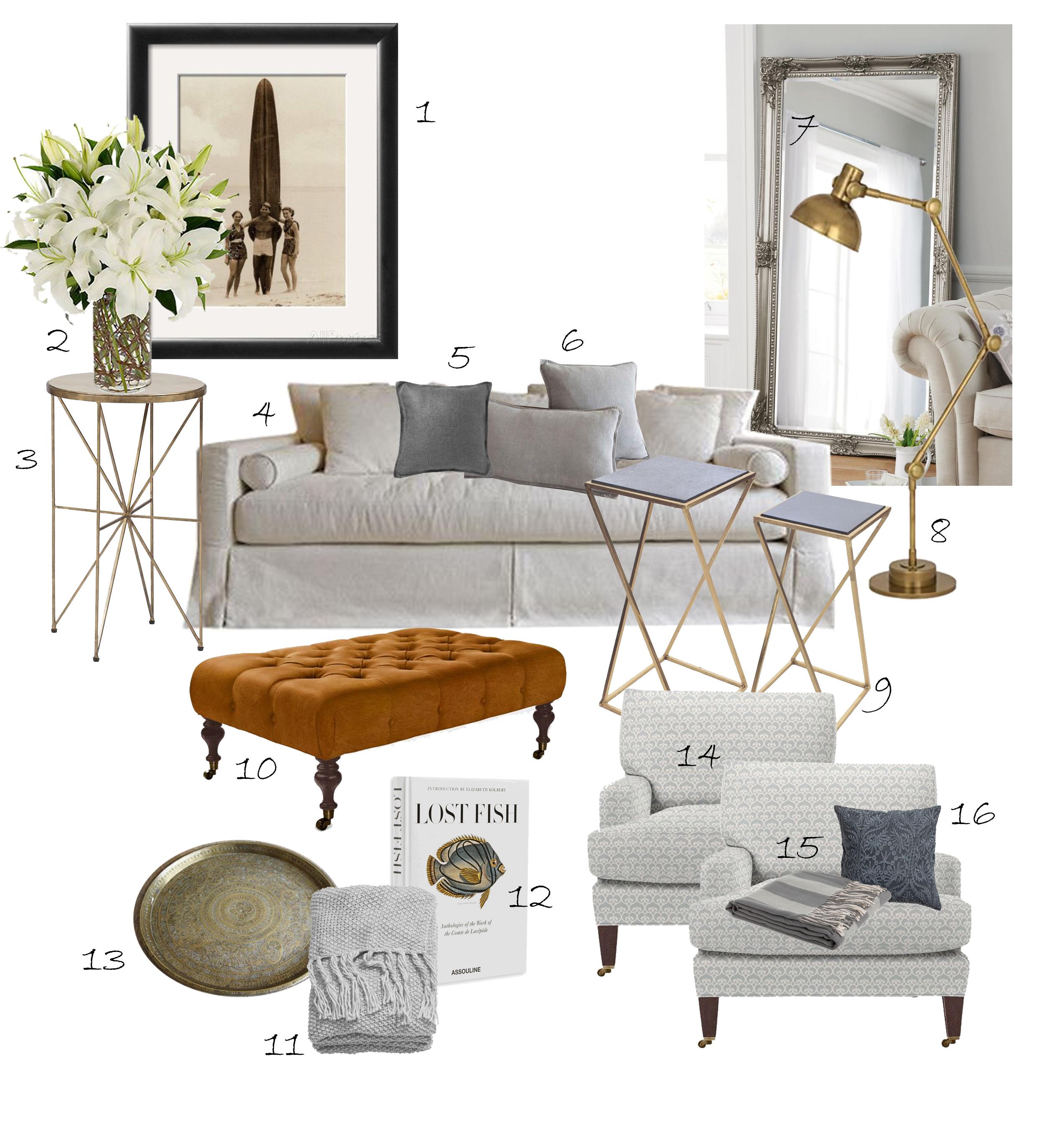 cozy living room by coco republic