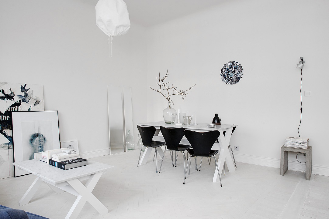 sfdbd8b27670d5443c5ba261644de9e64f2 White Apartment | Sweden