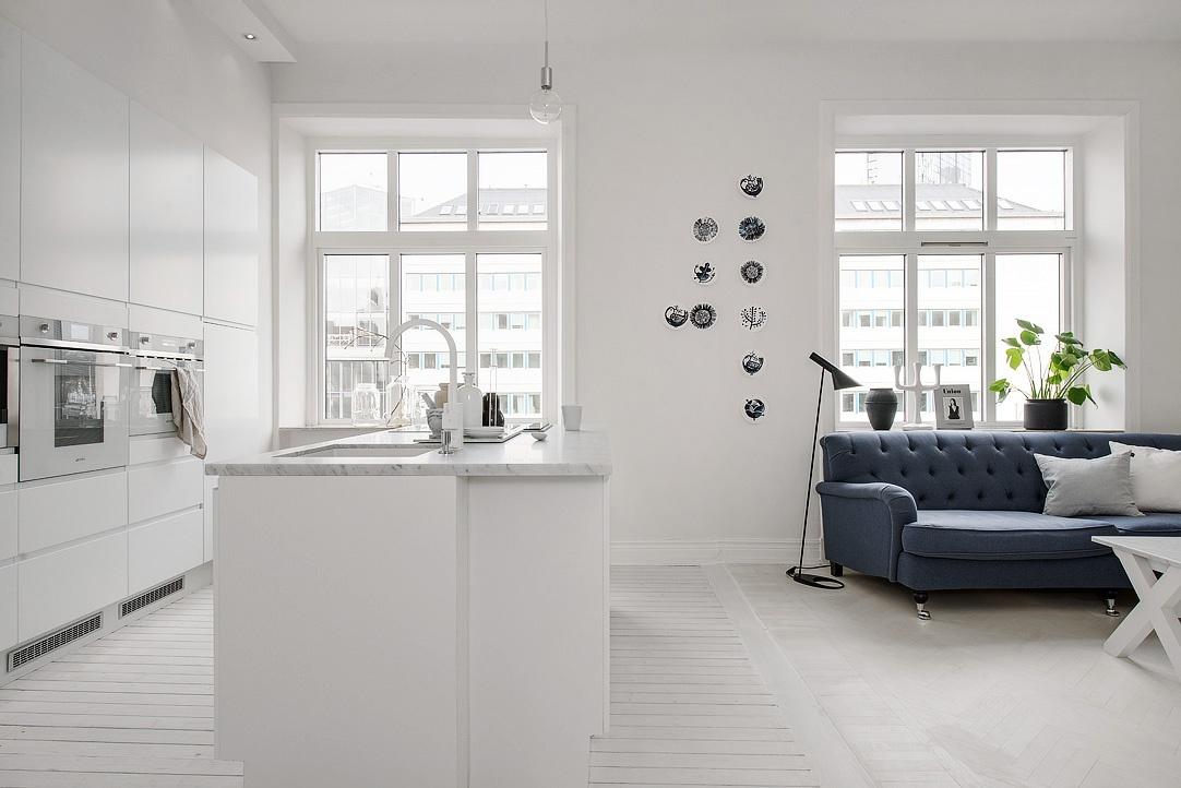 sfde719e5c7d6e143a799f0e6e7f25e1d23 White Apartment | Sweden