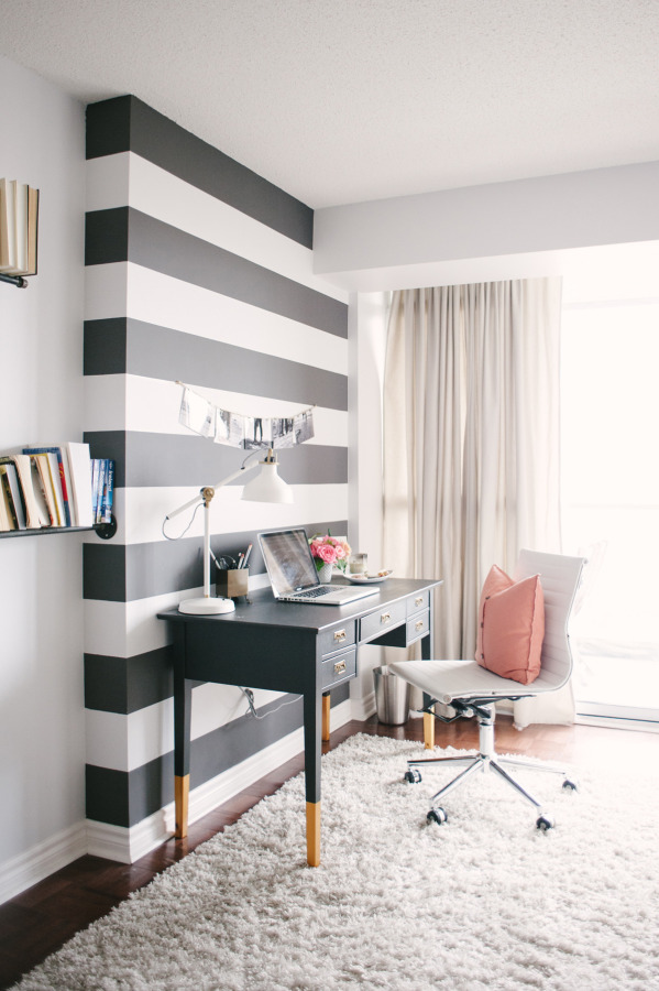 striped workplace Creating Inspiring Workspace