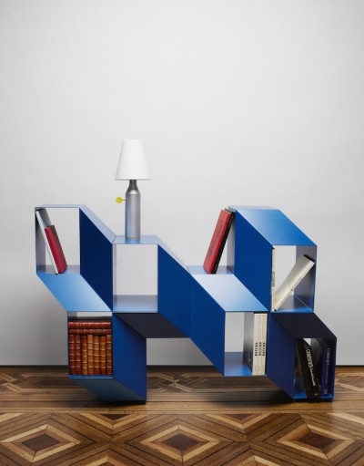 Charles Kalpakian Designed A Shelf That Looks Like An Optical Illusion