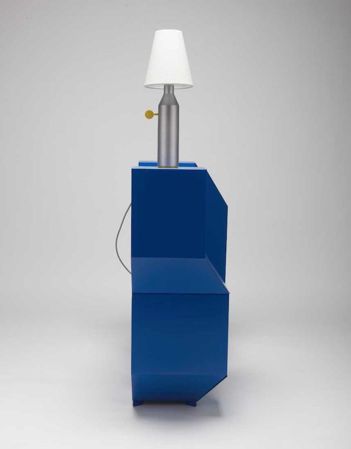charles kalpakian designed a shelf that looks like an optical illusion 4 Charles Kalpakian Designed A Shelf That Looks Like An Optical Illusion