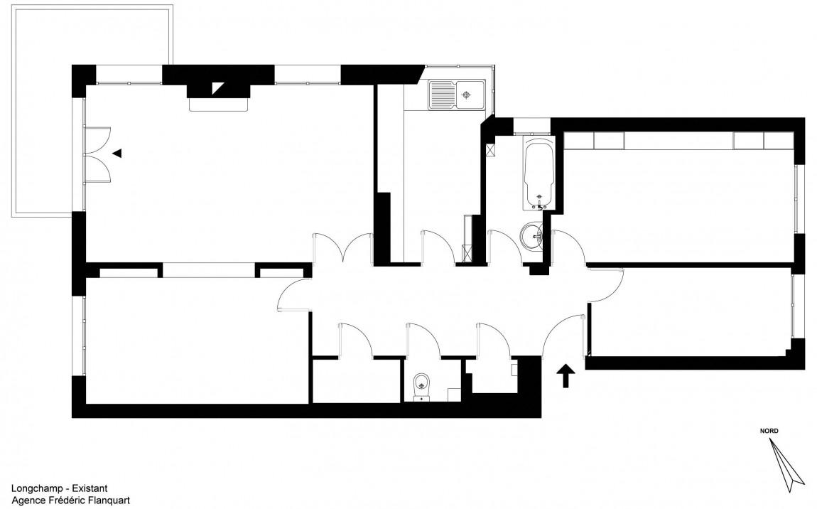 elegant home redesign 12 Elegant Apartment Redesign