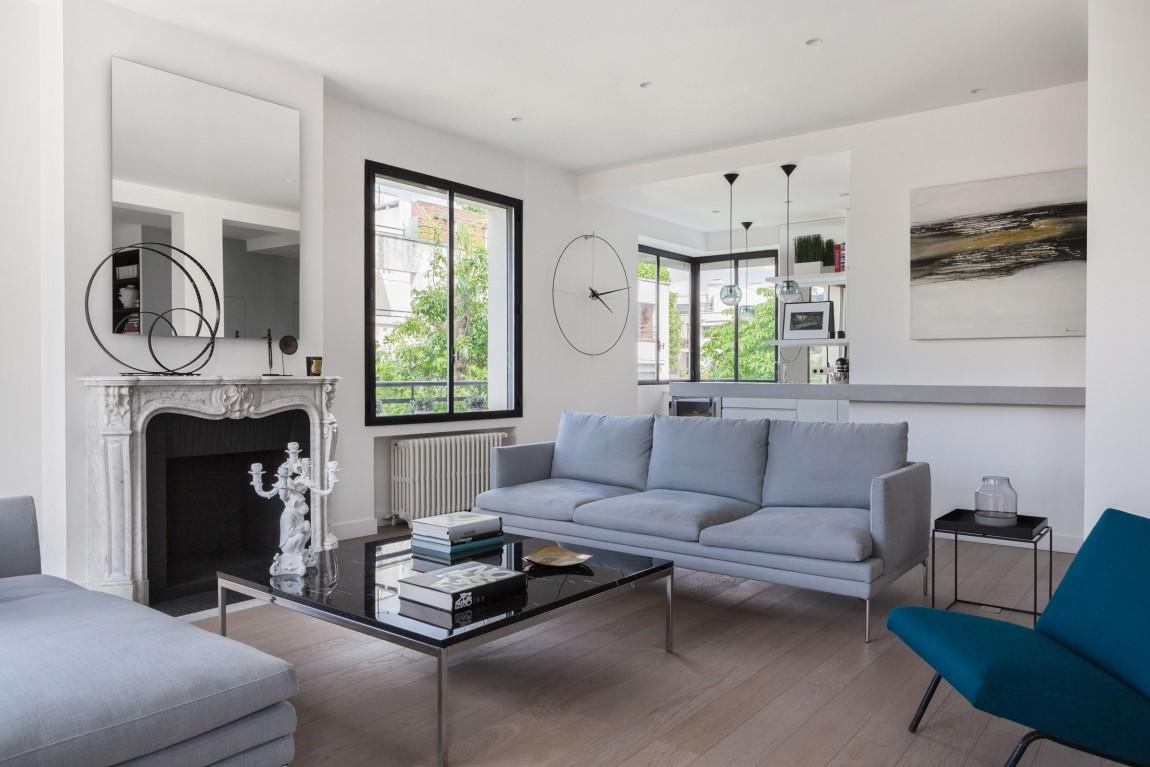 elegant home redesign 2 Elegant Apartment Redesign
