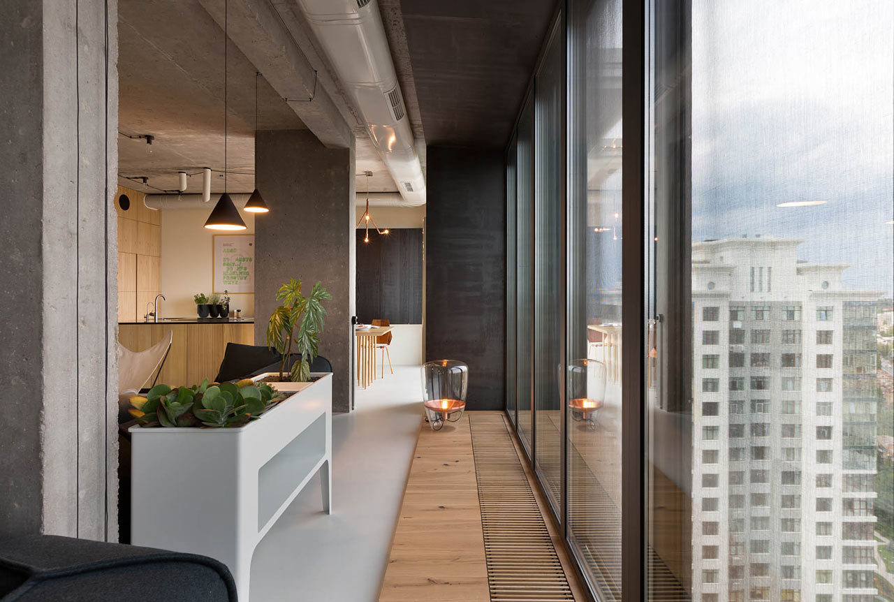 living wall grows in this awesome penthouse 10 Living Wall Grows In This Awesome Penthouse