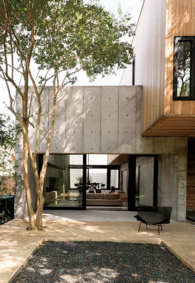 Minimal Concrete House By Robertson Design Studio