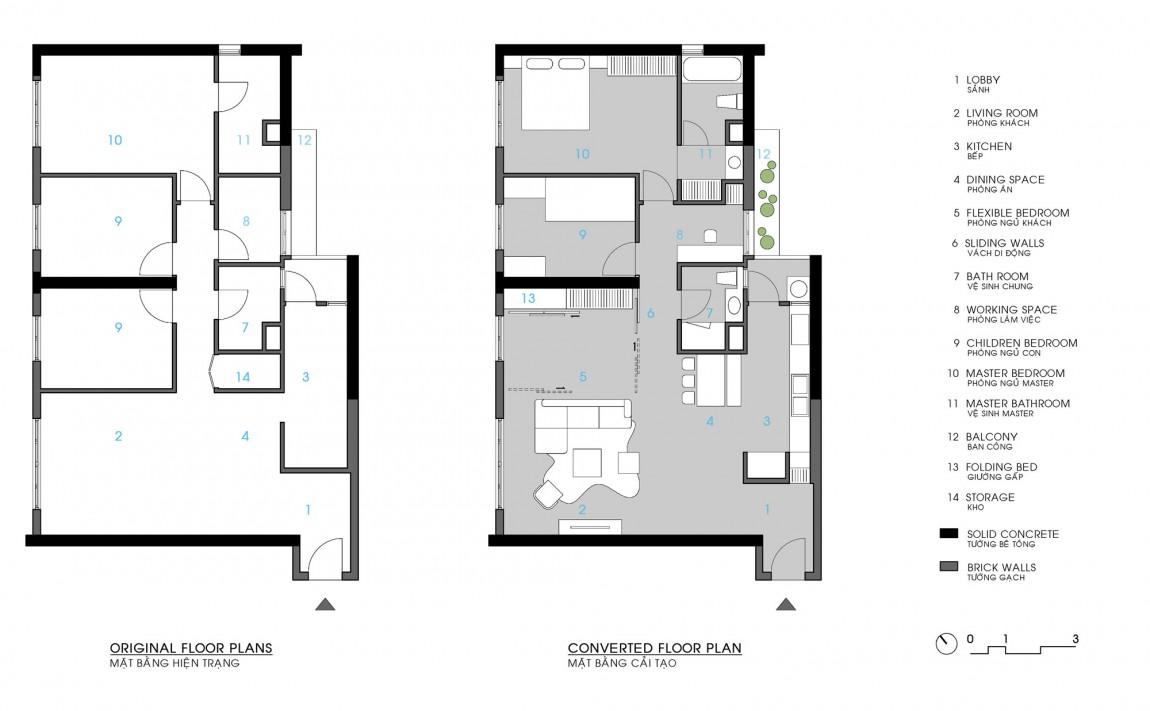 ml apartment 13 ML Apartment by Le Studio