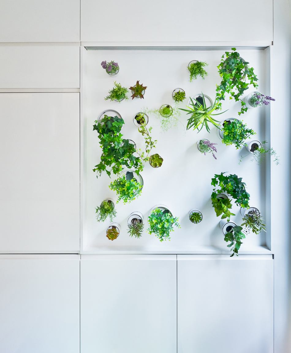 parisian apartment of a young fashion designer 15 Vertical Garden Grows In This Parisian Apartment Of A Young Fashion Designer