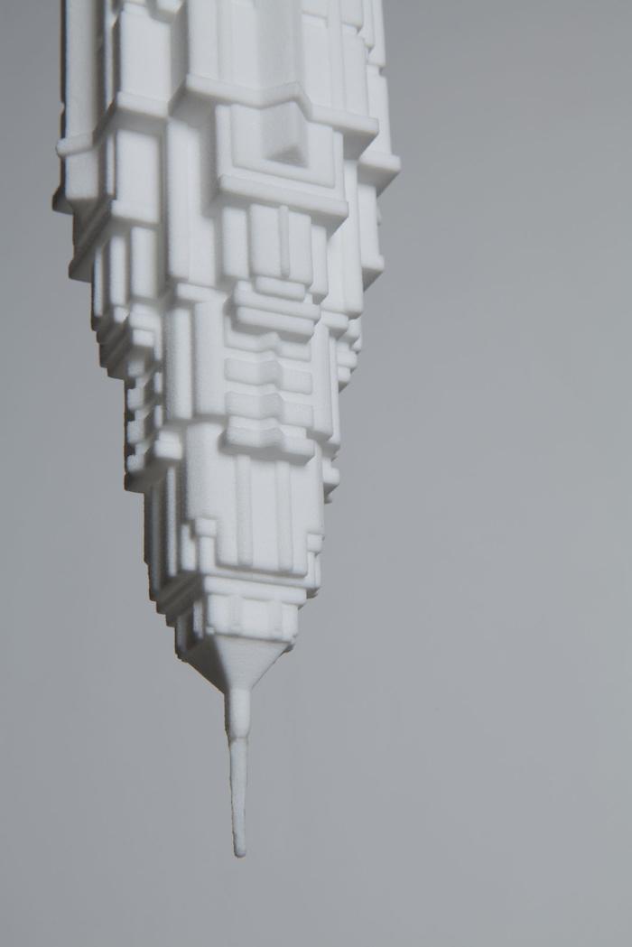 skyscraper shaped light bulbs by david graas 6 Skyscraper shaped Light Bulbs By David Graas