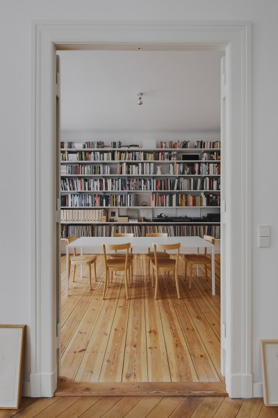Subtle Apartment In Berlin Renovated By Atheorem Architects