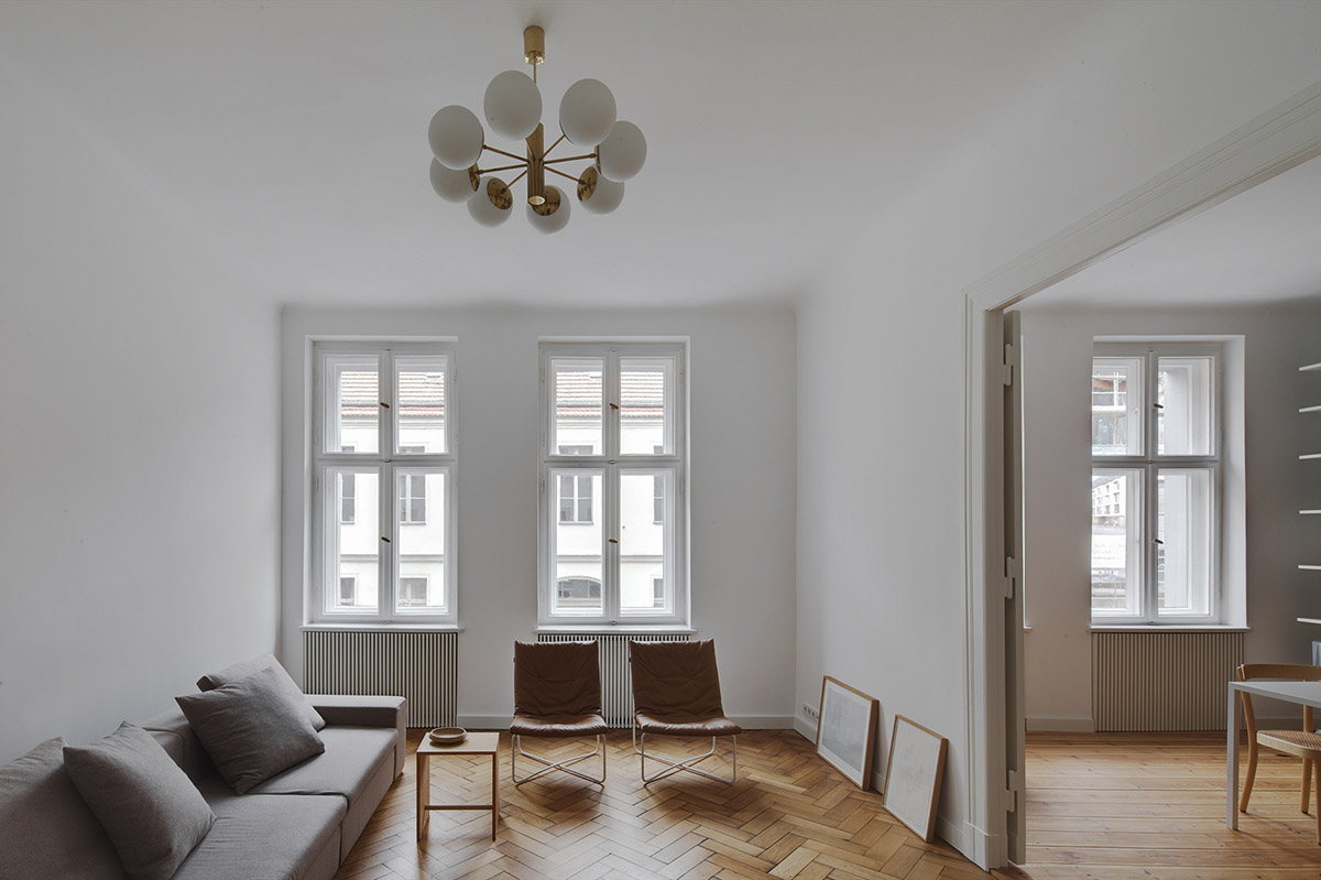 subtle apartment in berlin renovated by atheorem architects 2 Subtle Apartment In Berlin Renovated By Atheorem Architects