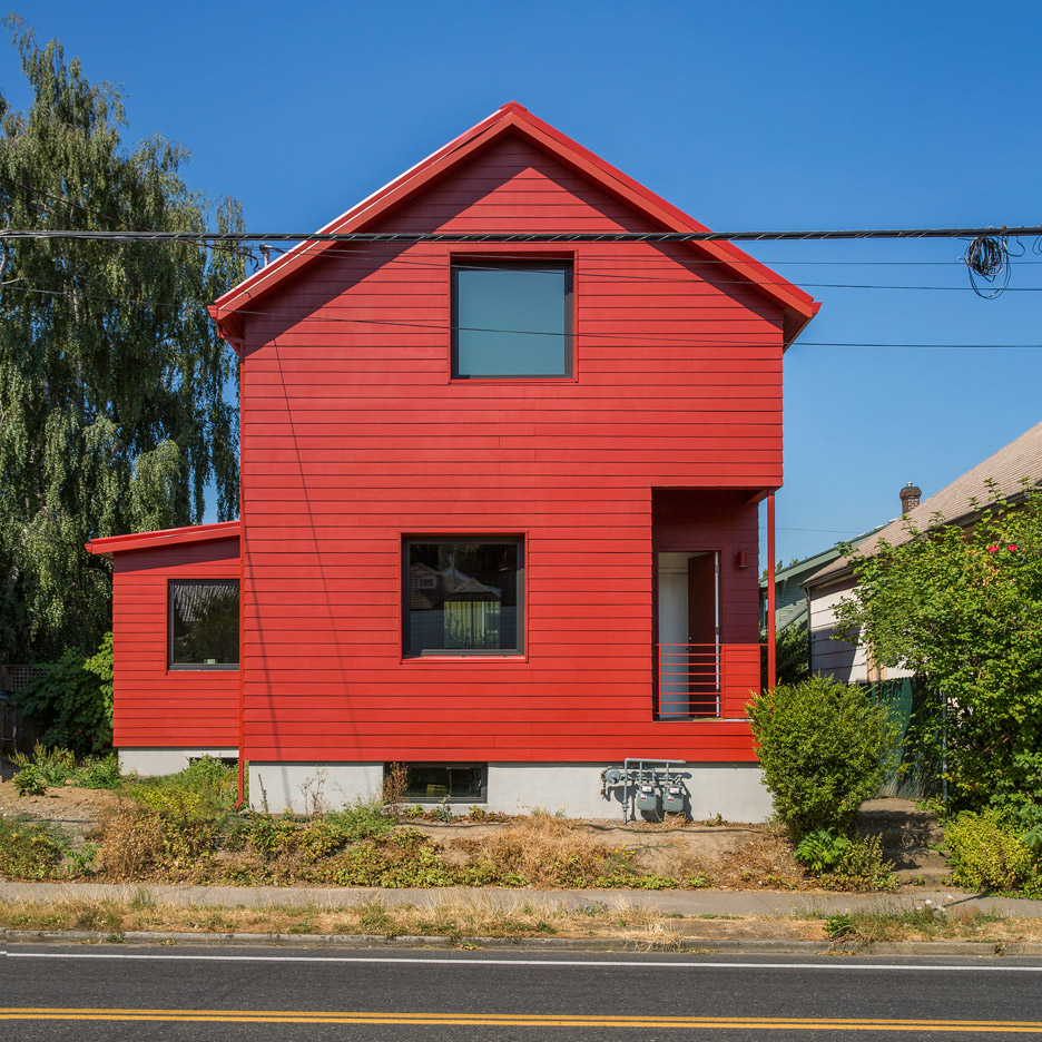 A Small Red Victorian House In Portland Your No 1 Source