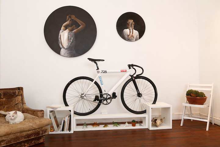 awesome bike furniture by designer manuel rossel 2 Awesome Bike Furniture By Designer Manuel Rossel