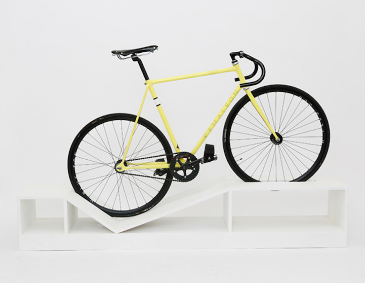 awesome bike furniture by designer manuel rossel 4 Awesome Bike Furniture By Designer Manuel Rossel
