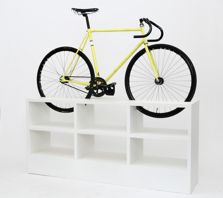 awesome bike furniture by designer manuel rossel 7 Awesome Bike Furniture By Designer Manuel Rossel