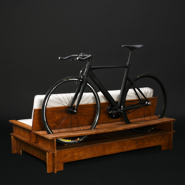 awesome bike furniture by designer manuel rossel 8 Awesome Bike Furniture By Designer Manuel Rossel