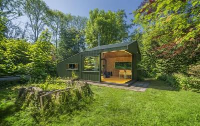 CC-Studio Designed This Hidden Cabin In The Noorderpark
